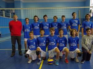 Echipa de volei juniori III CSȘ Nicu Gane Fălticeni luptă pentru calificarea la turneul final