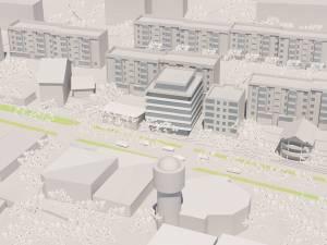Încadrarea în zonă a noului imobil, solicitată spre autorizare de Helland Orizont Construct