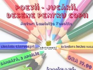 """Lansarea cărții """"Poezii - Jucării, desene pentru copii"""""""
