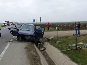 Accident mortal, într-o curbă periculoasă de la ieşirea din Suceava spre Gura Humorului