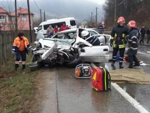 Accidentul a avut loc pe DN17, pe raza satului Molid, comuna Vama