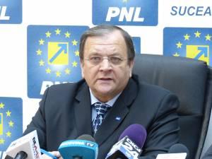 Liderul PNL Suceava, senatorul Gheorghe Flutur