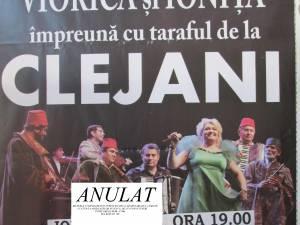 Spectacolul Clejanilor a fost anulat din lipsă de spectatori
