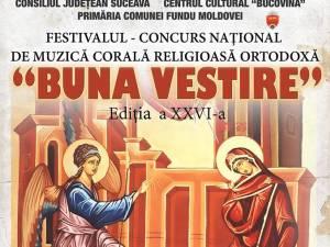"""Festivalul-concurs naţional de muzică corală religioasă ortodoxă """"Buna Vestire"""""""