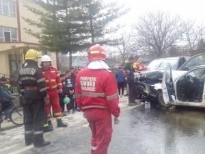 Accidentul mortal din centrul comunei Dumbrăveni
