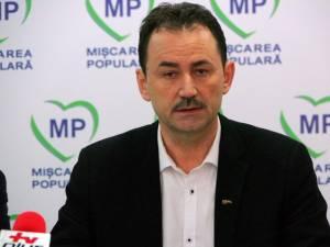 Candidatul Partidului Mişcarea Populară pentru funcţia de primar al Sucevei, Marian Andronache