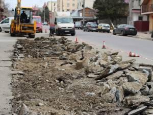 Lucrările de modernizare a străzii Jean Bart vor duce la crearea a 150 de locuri de parcare şi la fluidizarea traficului