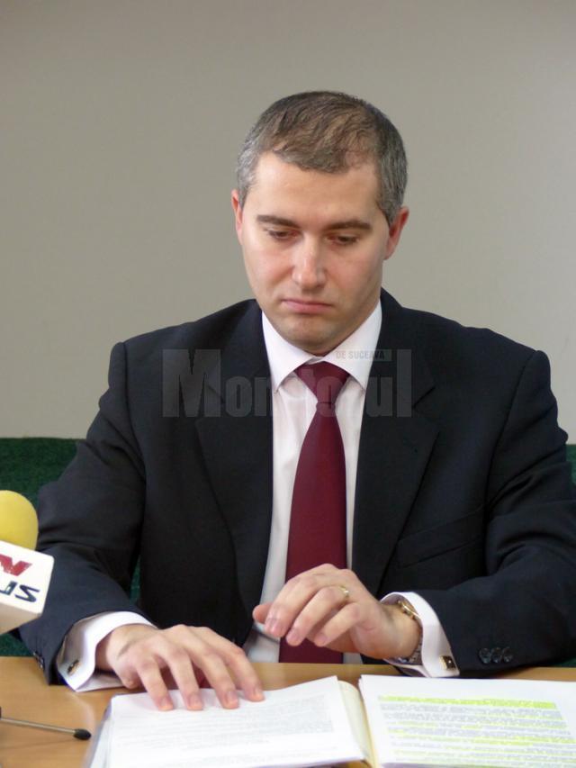 Administratorul public al judeţului Suceava, Ionuţ Adomniţei