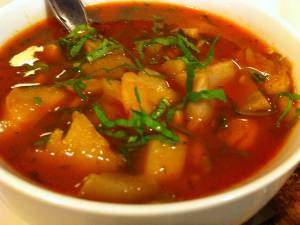 Ciorba de ciuperci (de post) - Foto: blogcusaresipiper.blogspot.com