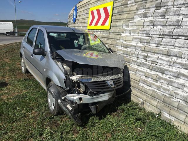 Din cauza vitezei, şoferul nu a mai putut controla maşina, care s-a dus direct în Zidul Morţii