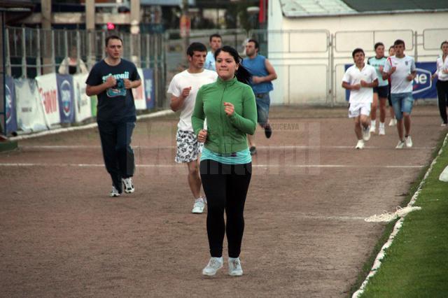 Sucevenii pot alerga pe stadionul Areni de la 6 dimineaţa până la 9 seara