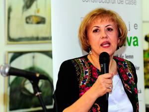 Angela Zarojanu a declarat că se va implica în campania electorală a candidatului PNL la Primăria Suceava, primarul în funcție, Ion Lungu