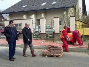 Lucrările de reparaţii stradale, verificate în teren de primarul Ion Lungu