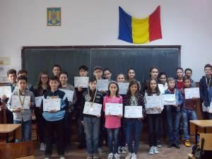 Concurs de matematică adresat elevilor din mediul rural, la Pârteştii de Jos