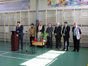 """La Şcoala Gimnazială """"Ioan Ciurea"""" a fost inaugurată sala de sport"""