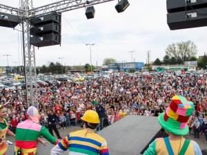 Spectacolul cu Gaşca Zurli, organizat de Shopping City Suceava, un mare succes
