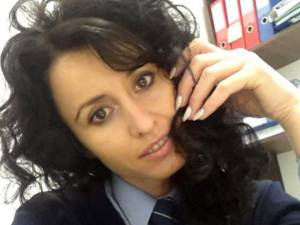 Agentul principal Violeta Covaliu va avea nevoie de o perioadă lungă de recuperare. Foto botosaneanul.ro