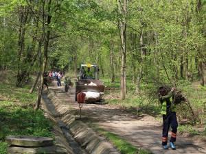 Acţiune de ecologizare a Parcului Şipote