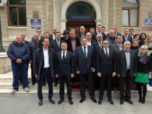 Partidul Mişcarea Populară (PMP) Suceava a depus ieri lista pentru Consiliul Judeţean, la Biroul Electoral Judeţean