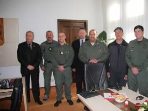 Delegaţia de poliţişti americani, de la Grupul de Aplicare a Legii de Dezvoltare Strategică (SLEDG)