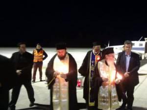Lumina Sfântă a ajuns la Suceava