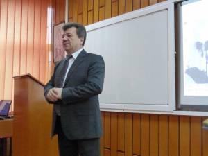 Directorul colegiului, prof. Virginel Iordache