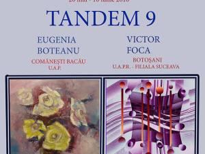 """Expoziţia de pictură şi artă virtuală """"Tandem 9"""""""