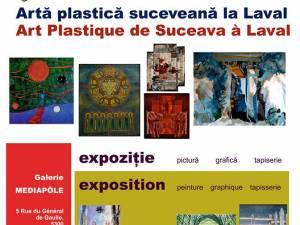 Artă plastică suceveană la Laval