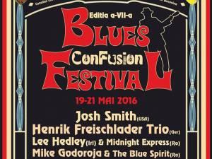 Patru zile de Blues ConFusion, pe platoul Cetăţii de Scaun şi în alte patru locaţii