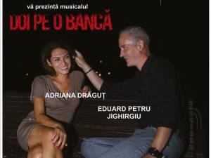 """""""Doi pe o bancă"""", la Teatrul Municipal """"Matei Vişniec"""" Suceava"""