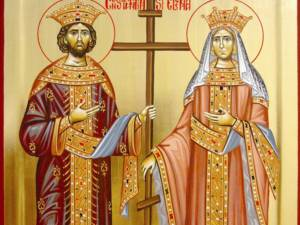 Sfinții Împărați Constantin și Elena