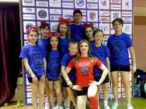 """""""Invictus All Stars Moldoviţa"""" a urcat pe podiumul Campionatului de Majorete de la Bistriţa"""
