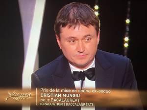 "Cristian Mungiu, premiat la Cannes pentru regia filmului ""Bacalaureat"""
