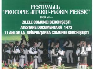 """Festivalul """"Procopie Jitariu - Florin Piersic"""", la Berchişeşti"""