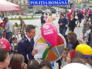 Manifestări organizate de Inspectoratul de Poliţie Judeţean Suceava, de Ziua Copilului