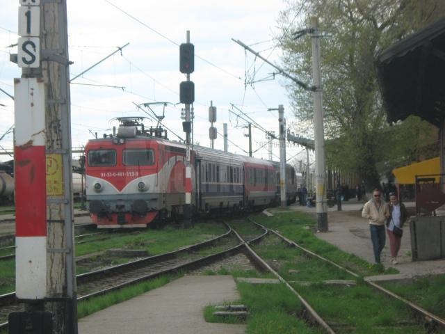 Traficul feroviar spre Capitală a fost blocat