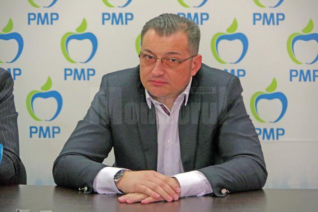 Candidatul PMP pentru preşedinţia Consiliului Judeţean Suceava, Ioan Bogdan Codreanu