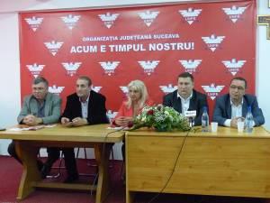 Dorin Simota, senatorul Mihai Neagu, deputatul Luminiţa Adam, Marius Boghian şi deputatul Valentin Blănariu