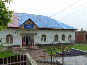 Şcoala cu clasele I-VIII din localitatea Probota, aflată în reabilitare printr-un program naţional de dezvoltare locală