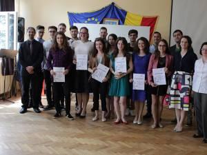 Tinerii au primit certificate Deutsche Sprachdiplom
