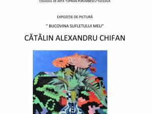 """Expoziția de pictură """"Bucovina sufletului meu"""""""