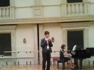 Suceveanul Alexandru Cozaciuc, pe scena Teatrului Bolşoi din Moscova