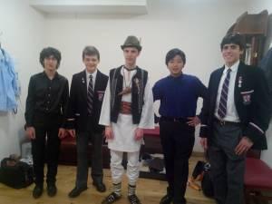 Alexandru Cozaciuc, la Moscova, alături de alţi tineri talentaţi