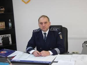 Comisarul-şef Sorin Gabriel Ursachi, şeful Serviciului de Poliţie Rutieră Suceava