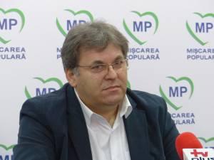 Preşedintele Organizaţiei Judeţene Suceava a PMP, Corneliu Popovici
