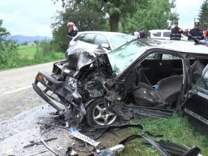 Accidentul al cărui protagonist a fost tânărul din Vicovu de Sus s-a petrecut marţi după-amiază, în jurul orei 17.00