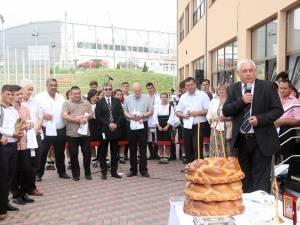 Ceremonia de inaugurare a noului campus