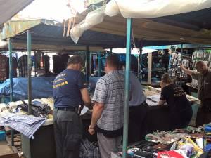 Inspectorii ANAF, din nou în control în Piaţa Mare