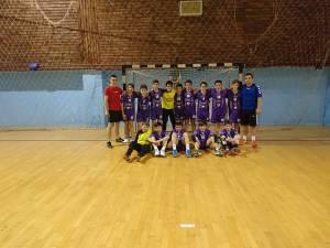 CS Universitar din Suceava s-a calificat în grupa principală la turneul final al naționalelor de handbal juniori IV