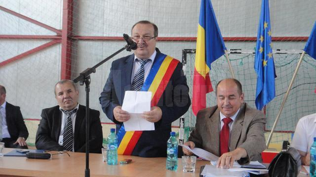 Primarul ales al comunei Marginea, liberalul Dumitru Nichitean